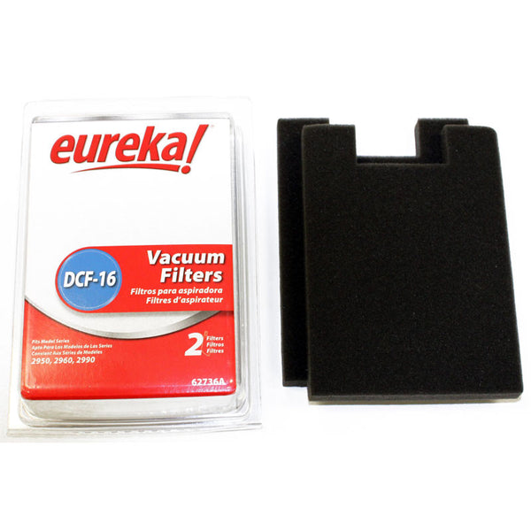 Eureka Filter, Dust Cup Dcf16   2950/60/90 Boxed No Frame, 62736A-4