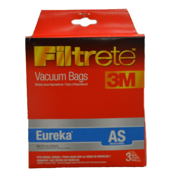 Eureka Paper Bag, As1050 Type As Filtrete 3m 3pk Upright, 67726-6 67726-6