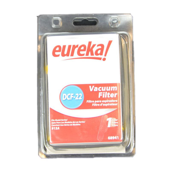 Eureka Filter, Dust Cup Dcf22   Lightforce Canister 915a, 68941 68941