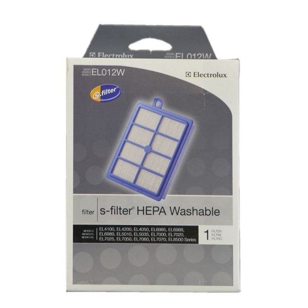 Eureka Filter, Exhaust Hepa     Washable El5010 El698, EL012W-4 EL012W-4