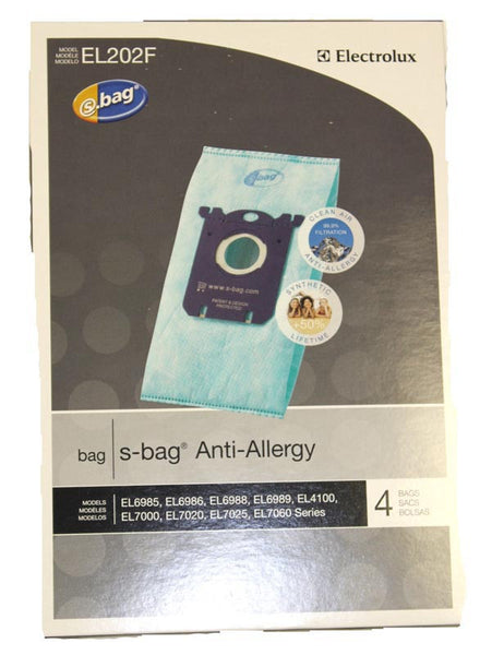 Eureka Paper Bag, Style S H10 Anti-allergy 4pk El6985, EL202F-4