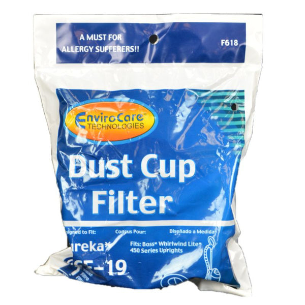 Eureka Filter, Eur Dcf19 Dirt Cup Pleated 450, F618 F618