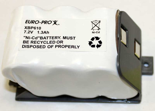 Europro Battery Pack, U610/us/dt/tc Uv614/h, XBP610