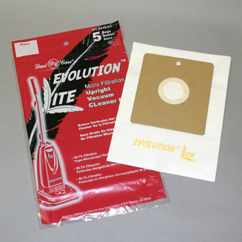 Evolution Paper Bag, Evolution & Cirrus Lite 658 5pk Micro, DCC658-22