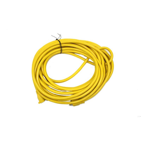 EZFit Cord, 50' Yellow 14/3 Buffer Burnisher 600v Rated, 926Y