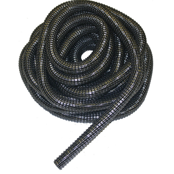 "EZFit Hose, 50' X 1 1/4"" Super Vac-u-flex Black, 35401250429"