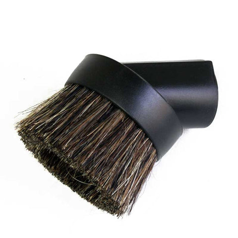 EZFit Dust Brush, Heavy Horse  Hair Blend Bristles Black, RV-HFGM-8