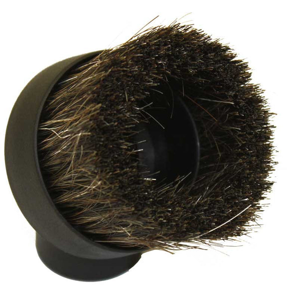 EZFit Dust Brush, Horse Hair   Bristles Textured Black, 14002