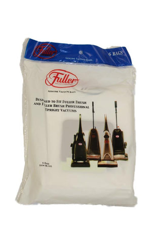 Fuller Brush Paper Bag, Fuller Brush  All Uprights Micro 6 Pk, 6.181