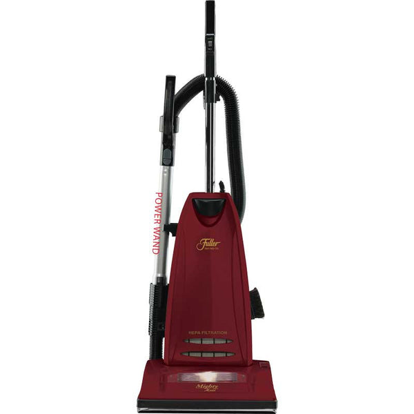 Fuller Brush Vac, Upright Mighty Maid 12a 30' Cord Red Obt Hepa, FBMM-PWCF.4