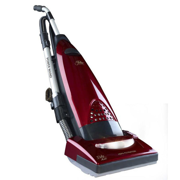 Fuller Brush Vac, Tidy Maid Upright 12a Obt 30' Cord Hepa Red, FBTM-PW.4