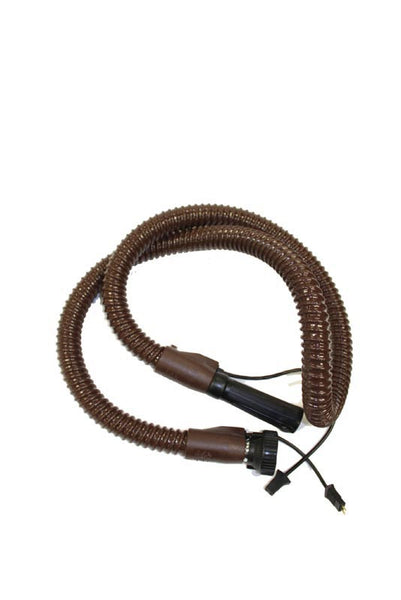 Filter Queen Hose, Electric Brown 6' 48 88 96 Straight Wand End, 4802000102