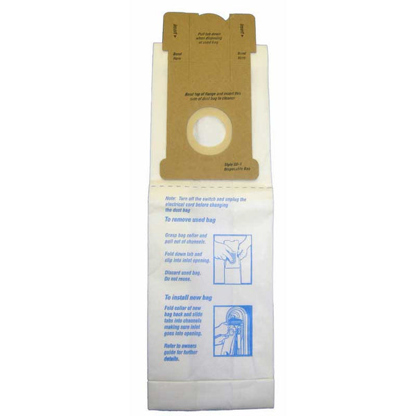 GE/Premier Paper Bag, Ge Type 1     Micron With Closure 3pk, 155
