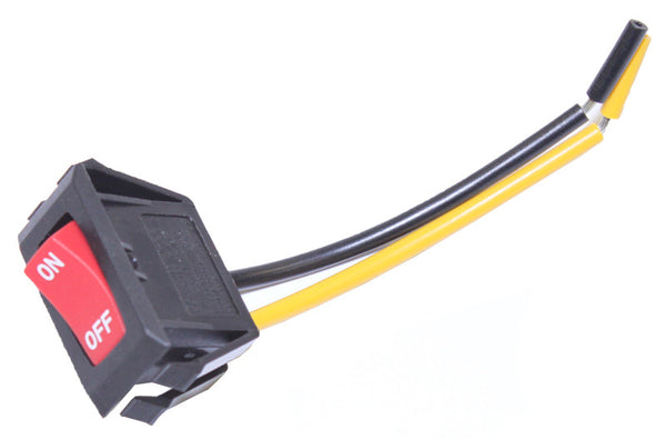 "Hoover Switch, Windtunnel W/3""  Leads 1 Yellow 1 Black, 28161074"