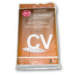 Hoover Paper Bag, Type Cv 2pk, 440004362