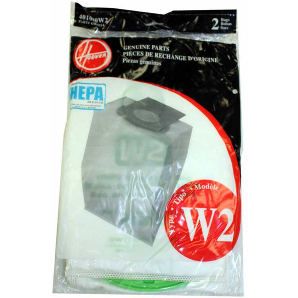 Hoover Paper Bag, Type W2 Hepa  Windtunnel2 2 Pk, 401080W2
