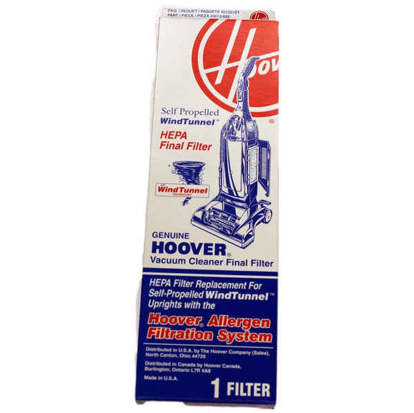 Hoover Filter, Final Hepa Power-drive Windtunnel W/frame, 40120101