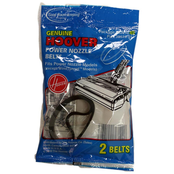 Hoover Belt, Flat Power Nozzles Except Windtunnel 2 Pk, 40201045