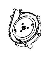 Hoover Fan Chamber, Assembly W/ Bearing Conquest U7069, 43588018