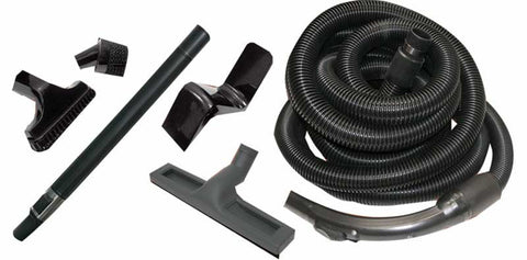 Hayden Kit, Garage 30' W/tools & Hose Hanger Black, 804410BL
