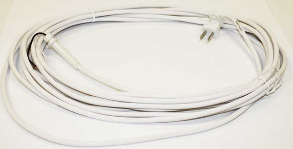 Hoover Cord, 30' White Hoover   Round Handles, 40231-9