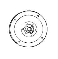 Kirby Bearing Plate, W/bearing 516-1cr Uses 116073 Brng, 116884S