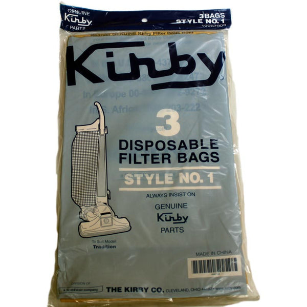 Kirby Paper Bag, Style 1      Tradition 3cb  3pk, 190679S