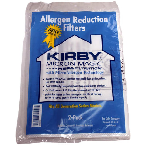 Kirby Paper Bag, 3m Allergen Control G6/ultimate G 2pk, 205803A