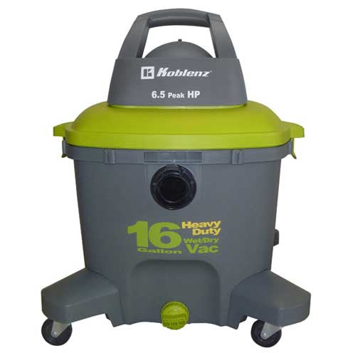 Koblenz Vac, Wet Dry W/ Tools 16 Gallon, WD-16K