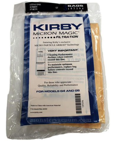 Kirby Generation Series Vacuum Bags