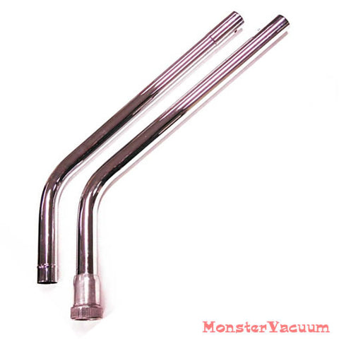 Back Pack Commercial Vacuum Cleaner 1 1/2 inch Wands Chrome - Commercial Quality - MonsterVacuum.com
