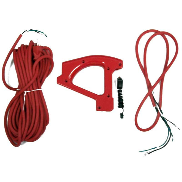 Oreck Kit, W/handle Hard 3 Wire Cord W/o Recpticle Red, 09-75611-01