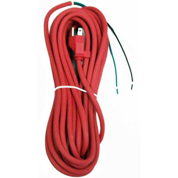 Oreck Cord, 35' 3 Wire W/o     Receptacle Red, 75080-05-441