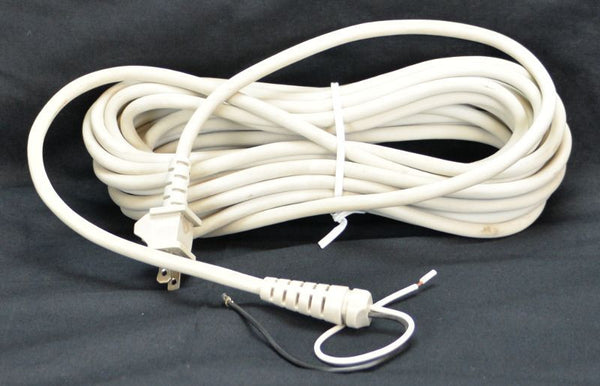 Oreck Cord, 30' 2 Wire White   3000 Series, 75896-01-328 75896-01-328