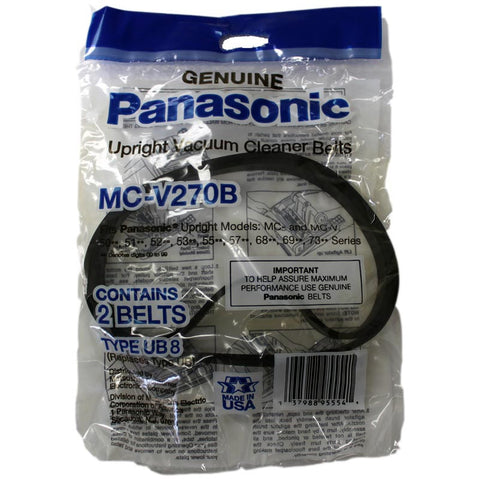 Panasonic Belt, Flat Type Ub8 7300 Series Uprights 2pk, MC-V270B