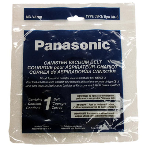 Panasonic Belt, Cb3 1pk Cg885 Cg887 Ribbed, MC-V370B