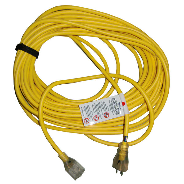 Proteam Cord, 50' Yellow W/ Lited End & Cord  Wrap, 101678