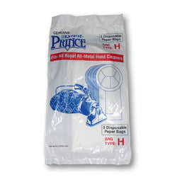 Royal Paper Bag, Royal Hand Vac Prince 501  3pk, 3050247001