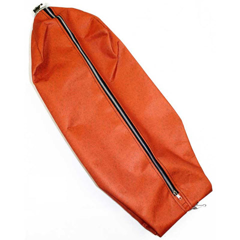 Royal Cloth Bag, Commercial    Zipper W/fill Tube Orange, 2066242AU1