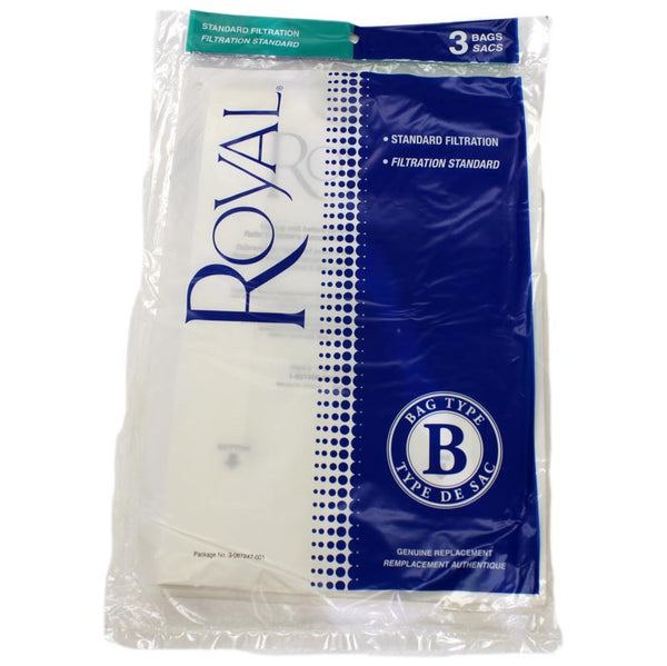 Royal Paper Bag, Royal Type B  Upright Top Fill  3pk, 3067247001