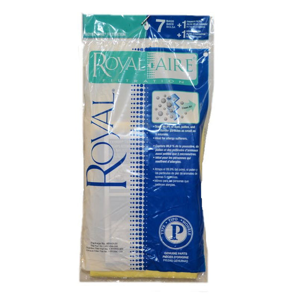 Royal Paper Bag, Type P Sr30010 7pk W/1 Each Filter Cans, AR10120 AR10120