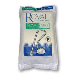 Royal Paper Bag, Airo-pro Can  Type P Royalaire W/flt 7p, 3RY1100001