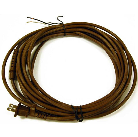 Rexair Cord, 25' 2 Wire D4 Brown Main Power W/grommet, 78-5212-72