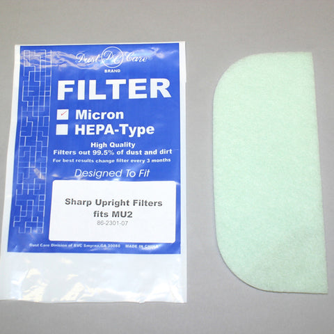 Sharp Filter, Secondary Mu2    12tx8/14tx6/14txt8 2pk, 86-2301-07