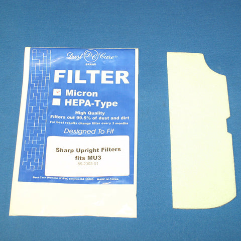 Sharp Filter, Secondary Mu3    Obt Models 2pk, 86-2303-01