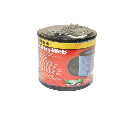 Shop Vac Filter, Cartridge Ultra  Web, 9035000