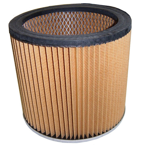 "Shop Vac Filter, Cartridge Shop   Vac 6"" Tall 7"" Dia., AS6VAC"