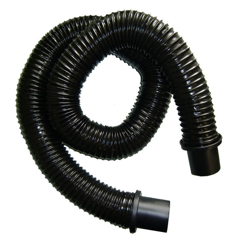 Shop Vac Hose, Non-electric W/ends 2 1/2 X 6' Wire Black, 3030250015