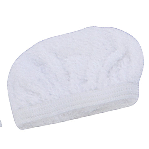 VAPAMORE Bonnet, Cotton Cover 4 Squeegee Uph Tl Mr100 White, MR-100-12