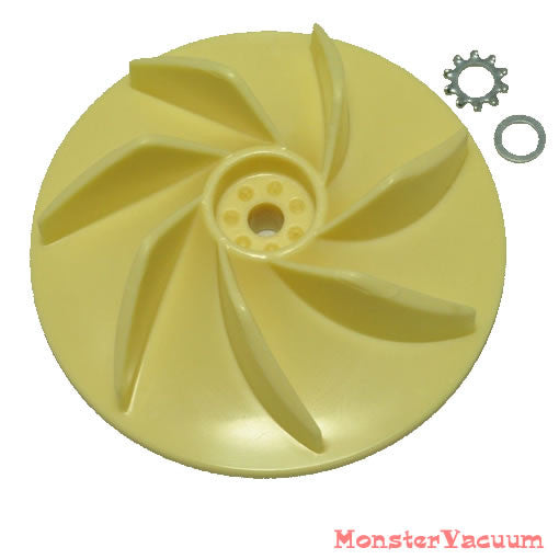 Oreck XL Vacuum Cleaner Fan / Impeller- 09-75300-01 with washer - SEE NOTE